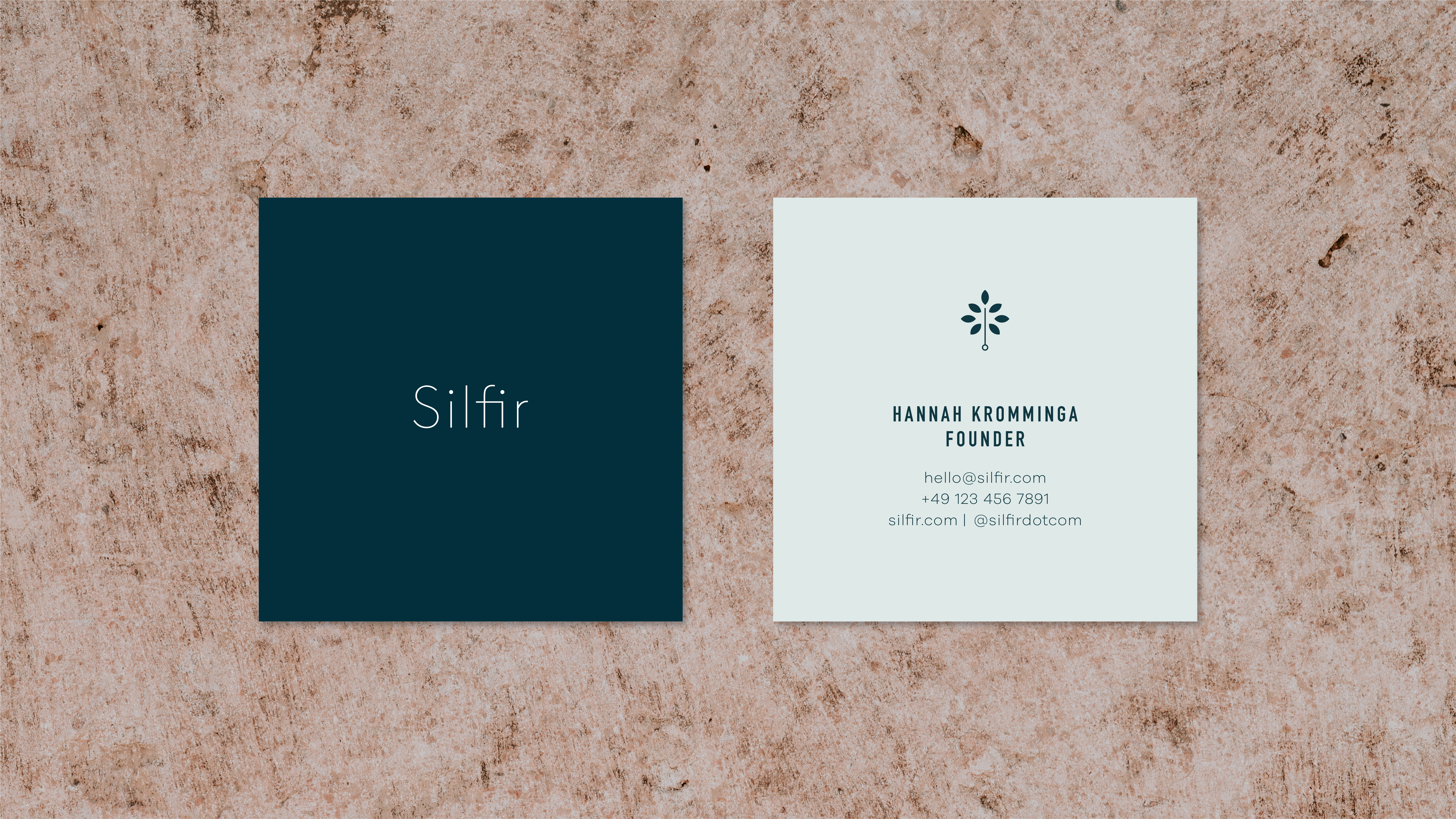 Silfir business cards